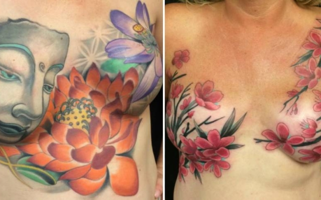 se faire tatouer apr u00e8s un cancer du sein   parce que le cancer ne doit pas laisser la derni u00e8re
