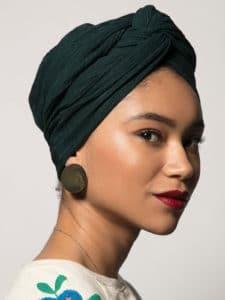 Turban Audrey - Egyptienne de chez Indira de Paris