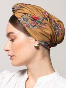 Turban Katarina - Egyptienne de chez Indira de Paris
