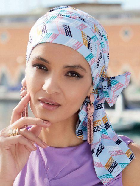 Le turban Mayte de chez Gisela Mayer